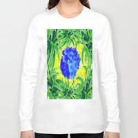 brasil Long Sleeve T-shirts featuring Brasil Flag by Jess Batista