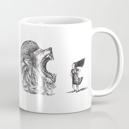 Be Louder Than Your Lions Coffee Mug