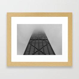 Foggy Chicago Morning 002 Framed Art Print