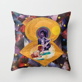 David and the Prince Throw Pillow