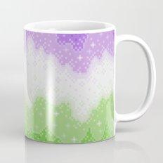 Genderqueer Pride Galaxy Mug