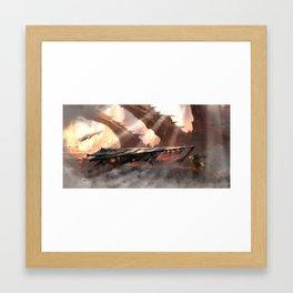 Gamma 1 Framed Art Print
