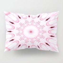 Rose Pink Mandala Explosion Pillow Sham