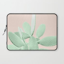 Green Blush Cactus #1 #plant #decor #art #society6 Laptop Sleeve
