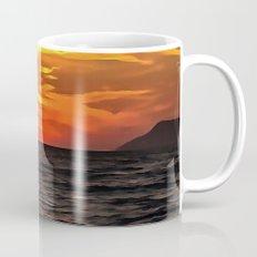 Sunset Over The Mediterranean Sea Mug