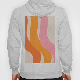 70s summer colors - art, interior, drawing, decor, design, bauhaus, abstract, decoration, home, gift Hoody