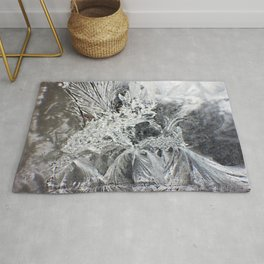 Lamenting Frost Fairy Rug