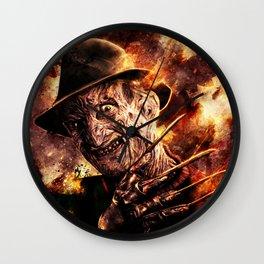 New Nightmare Freddy  Wall Clock