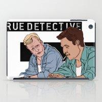 true detective iPad Cases featuring True Detective Fan Art by Vito Fabrizio Brugnola