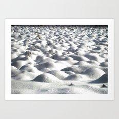 Snoww Art Print