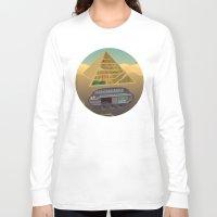 egypt Long Sleeve T-shirts featuring Egypt by Xènia Castellví