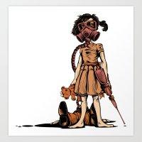 dead Art Prints featuring Dead Sucker by KDLIG