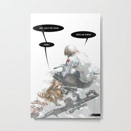 Sunny Afternoon 2.0 Metal Print