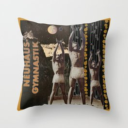 Men in the Moon Throw Pillow