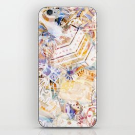 Mosaic of Barcelona XI iPhone Skin
