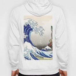 Legend of Zelda Great Wave Windwaker - the great wave off kanagawa Hoody