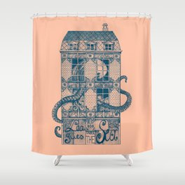 20 000 Leagues under the Sea Shower Curtain