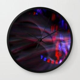 Kaleidscope Colors Wall Clock