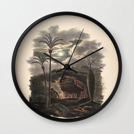 Tree cocos capitata L 9 Wall Clock