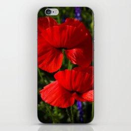 poppy -5- iPhone Skin