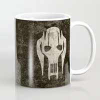 general Mugs featuring General Grievous by Some_Designs