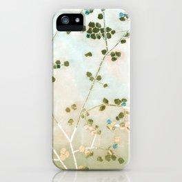 mosaica glitterati in blue + gold iPhone Case