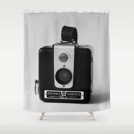Brownie Hawkeye Shower Curtain