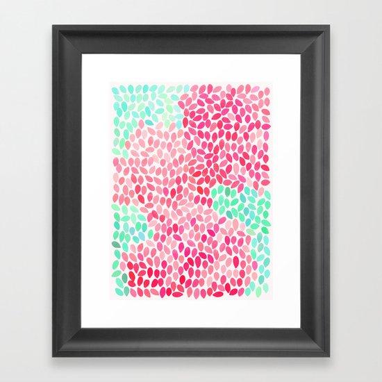 rain 7 Framed Art Print
