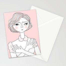 Wondering Lady Stationery Cards