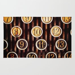 Vintage Numbers Rug