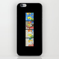boxing iPhone & iPod Skins featuring Boxing by Bakal Evgeny