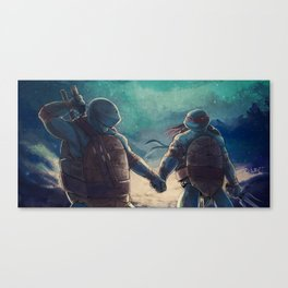 Leonardo and Raphael Canvas Print