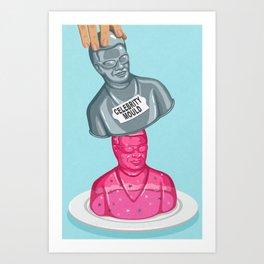 Instant celebrity Art Print