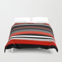 discount Duvet Covers featuring There's movement by Roxana Jordan