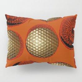 ORANGE RED GOLD Pillow Sham