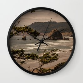 Pacific Summer Wall Clock