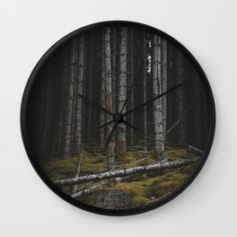 Creatures Of The Forest II Wall Clock