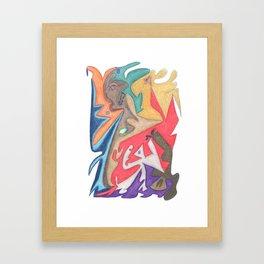 Drawing #86 Framed Art Print