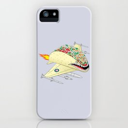 Taco Fighter Jet iPhone Case