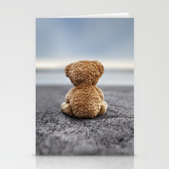 Teddy Blue Stationery Cards