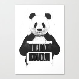 I need color Canvas Print