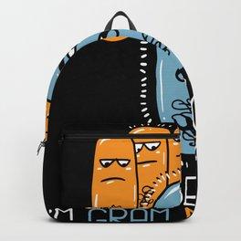 Microbiology Gram Negative Lover Motif Backpack