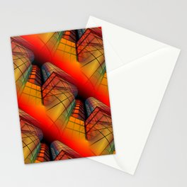 3D - abstraction -63- Stationery Cards