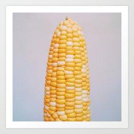 Corny Corn Art Print