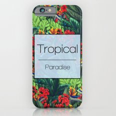 Tropical Paradise iPhone 6s Slim Case