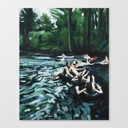 Boulder Creek Float Canvas Print
