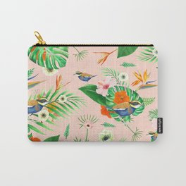Jewel of The Forest - Pink Carry-All Pouch