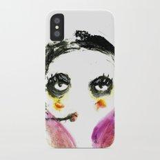 Mme Zuzu iPhone X Slim Case
