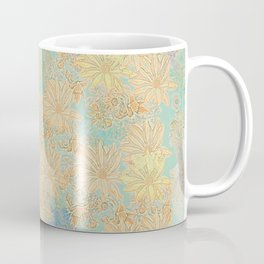 Antique Floral Good Old Days (plain) Coffee Mug