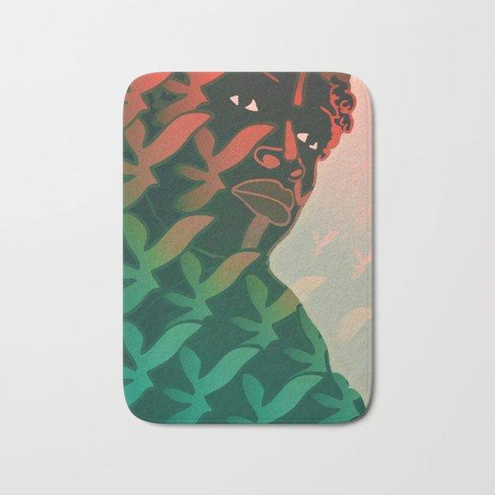 Ebony Green Bath Mat